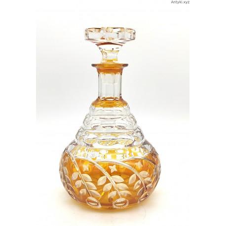 Kryształowa karafka huta Józefina