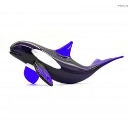 Orka szklana duża figurka