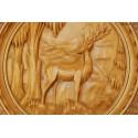 Medalion z jeleniem