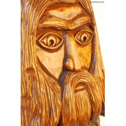 Drewniana maska Karkonosza