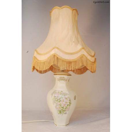 Ceramiczna lampa stołowa Limoges