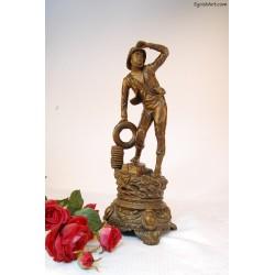 Rzeźba rybaka