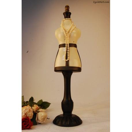 Ceramiczny stojak na biżuterię