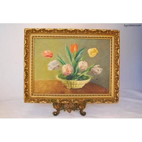 Tulipany w doniczce