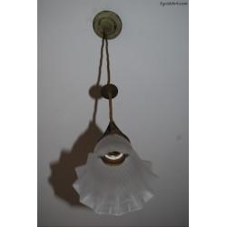 Lampka z pojedyńczym kloszem