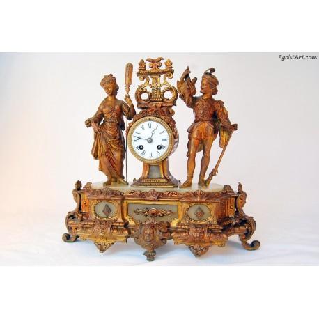Francuski zegar kominkowy