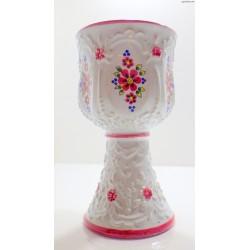 Stary porcelanowy kielich -Bohemia