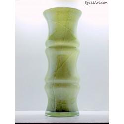 Duży zielony wazon