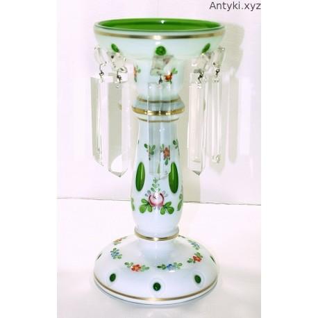 Świecznik z kryształowymi soplami - Bohemia