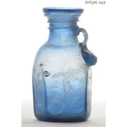 Butelka - wazonik - antyczne szkło