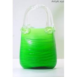Szklana torebka Murano