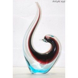 Figurka - szklany ptak Murano