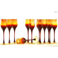 Komplet lampek do wina - Zbigniew Horbowy - 12 szt