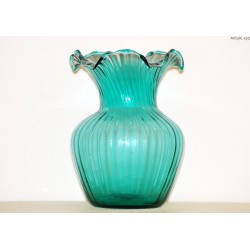 Stary turkusowy wazon