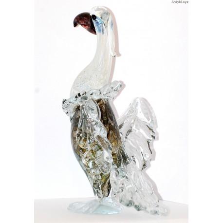 Ptak - figura szklana - wielka