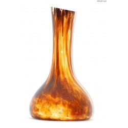Wazon brązowy - szkło trójwarstwowe