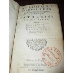 Pamflet o Katarzynie Medycejskiej i Henryku Walezym