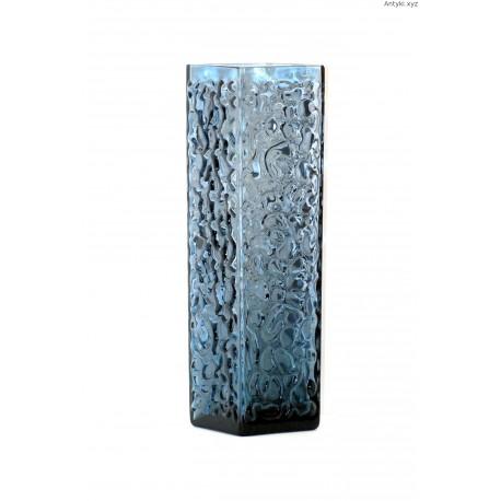 Turkusowy wazon - szkło skandynawskie