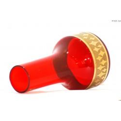 Wazon czerwony - Bohemia