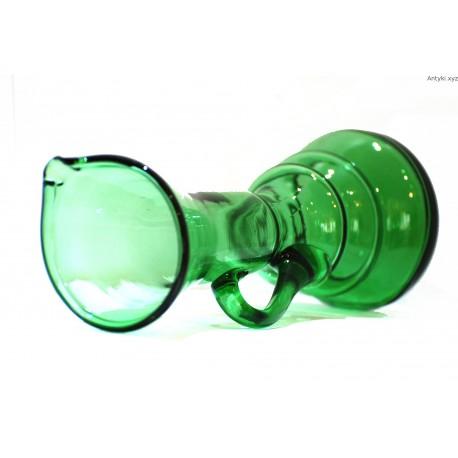 Wazon dzban - butelkowa zieleń