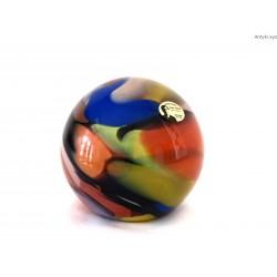 Szklana kula przycisk Peter Kaspar