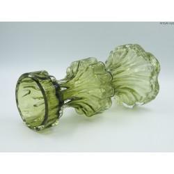 Wazon stary Ingrid Glass oliwkowy duży