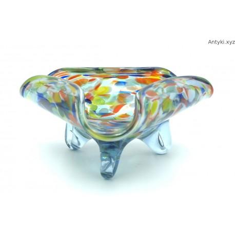 Kolorowa popielniczka paterka na biżuterię