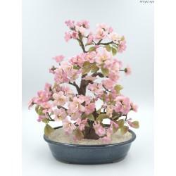 Szklane drzewko bonsai duże