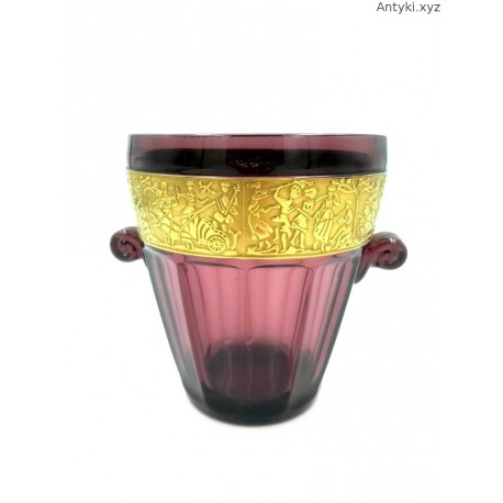 Bakłażanowy pojemnik na lód wazon donica