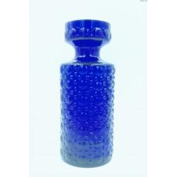 Helena Tymell kobaltowy stary wazon grube szkło