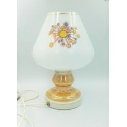 Stara szklana lampa z Pieńska