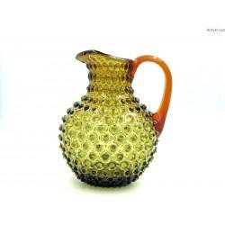 KAMENICKY SENOV Frantisek Koudelka duży dzban w kolorze ciepłej zieleni