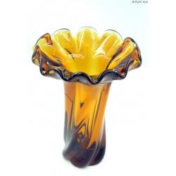 Egermann wielki bursztynowy stary wazon