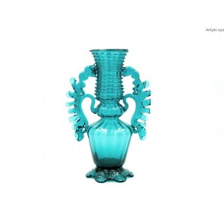 Hiszpański turkusowy wazon