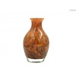 Wazon w kolorach jesieni ciężki grube szkło