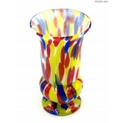 Welz Kralik kolorowy stary wazon