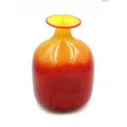 Wazon butla żółto czerwona