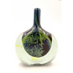Phoenician Glass Malta wazon butla grube szkło