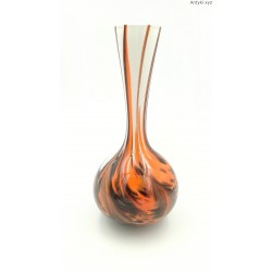 Carlo Moretti wazon szkło trójwarstwowe odcienie brązu pomarańczu