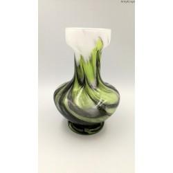 Opaline Florence wazon w odcieniach zieleni