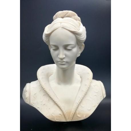 Popiersie kobiety alabaster