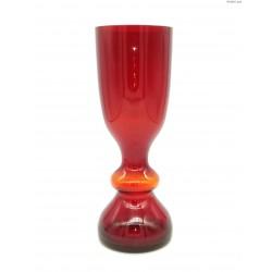 Stefan Sadowski rubinowy wazon bąble