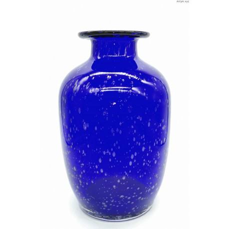Ilmenau kobaltowy duży wazon