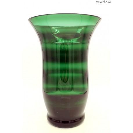 Zielony wielki wazon