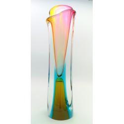 Josef Rozinek duży wazon w pastelowych barwach