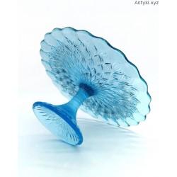 Ząbkowice duża turkusowa patera migdały