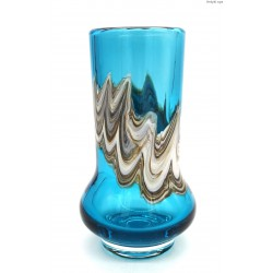 Schott Zwiesel turkusowy wazon