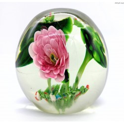Przycisk do papieru - wielka szklana kula