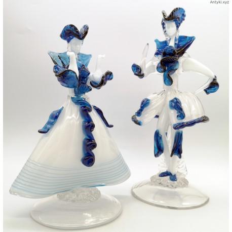 Murano duże szklane figury