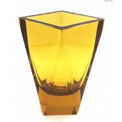 Bursztynowy wazon art deco